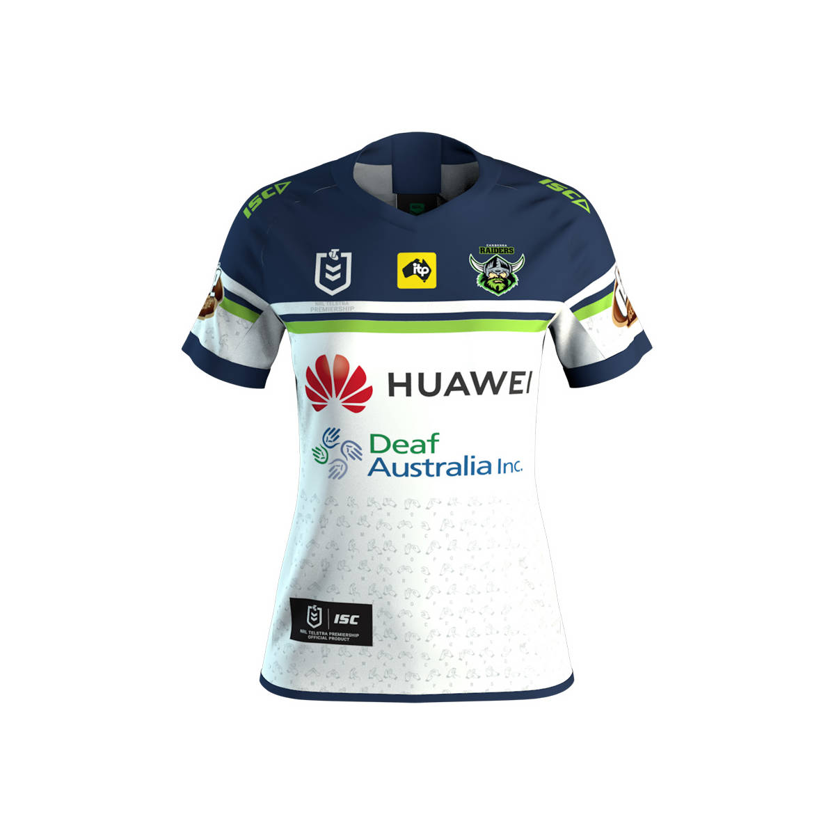 2019 Raiders Ladies Huawei Charity Jersey0