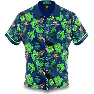 NRL Raiders Hawaiian Shirt