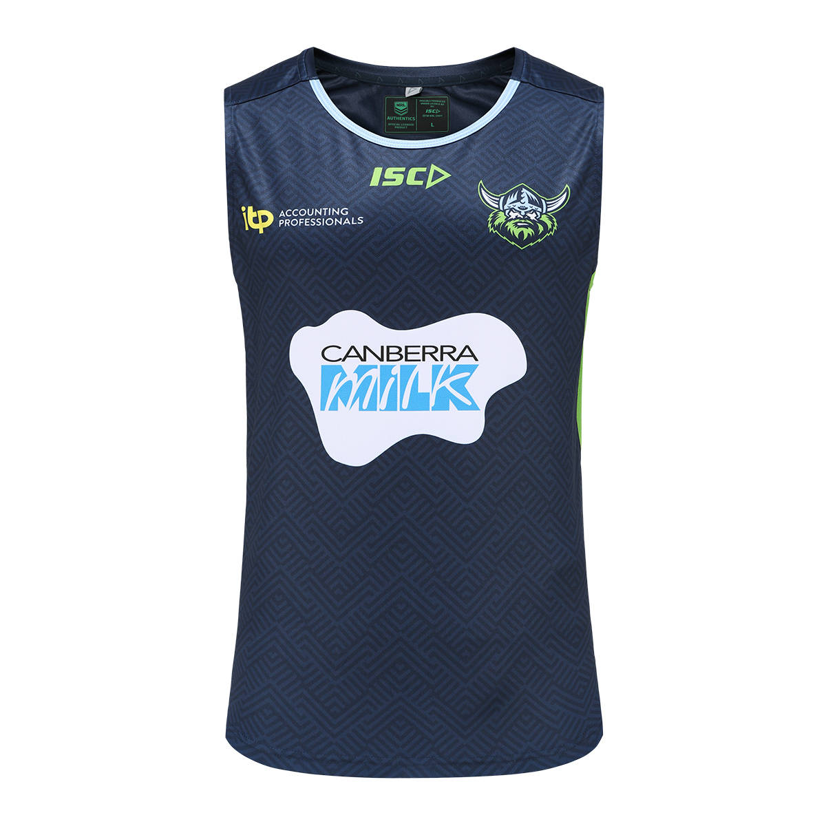 2021 Adults Training Singlet Navy0