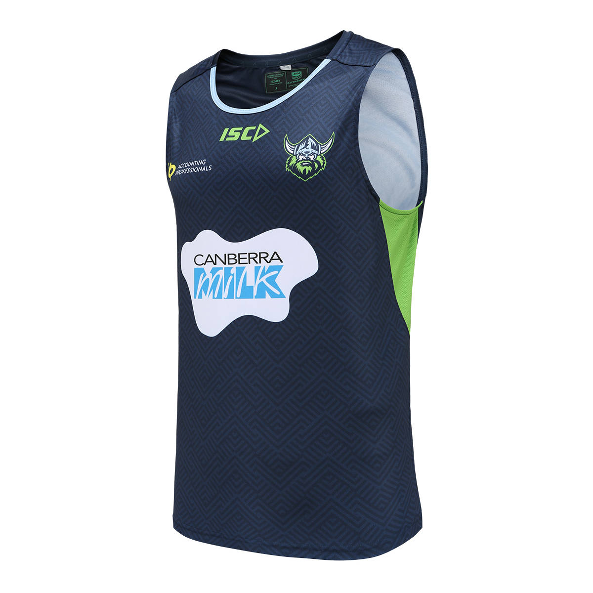 2021 Adults Training Singlet Navy1