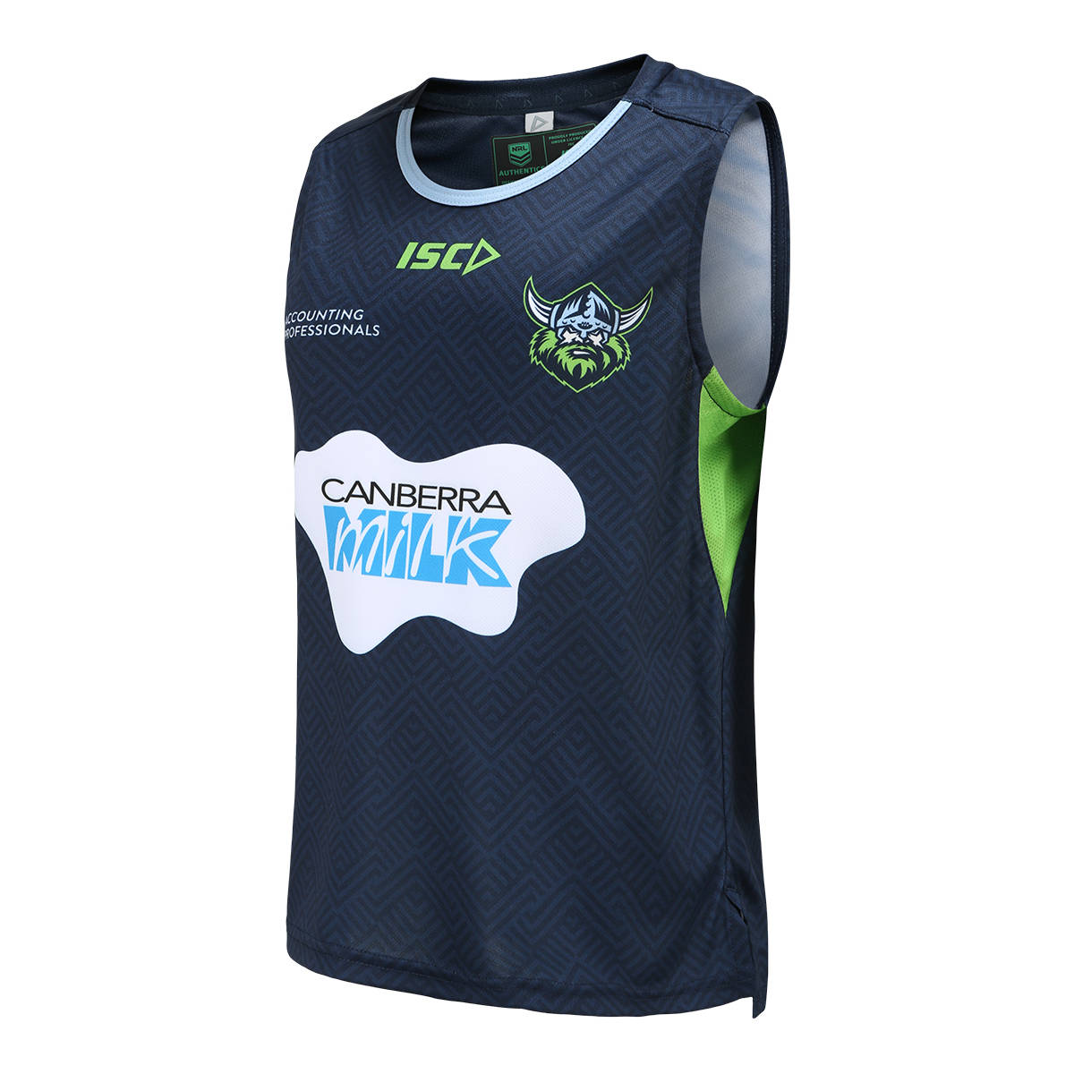2021 Kids Training Singlet Navy1