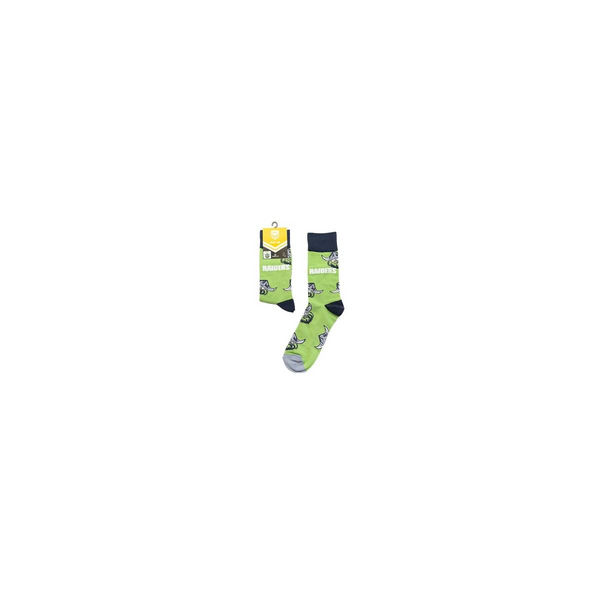 Canberra Medium Large Logos Sock0