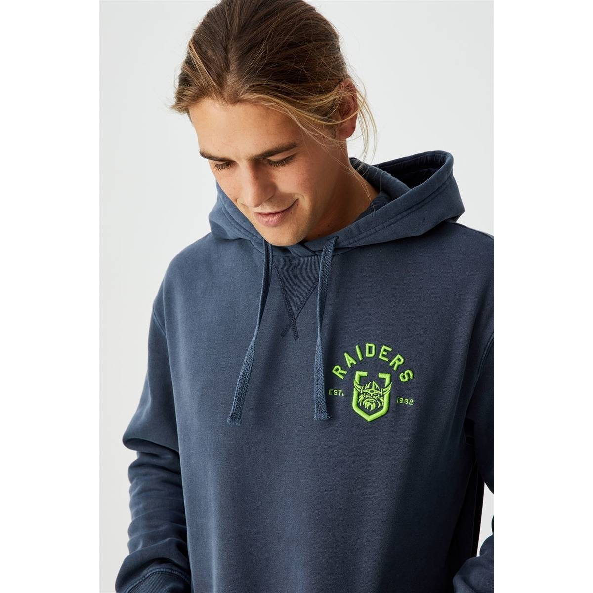 NRL Mens Chest Embroidery Hoodie0