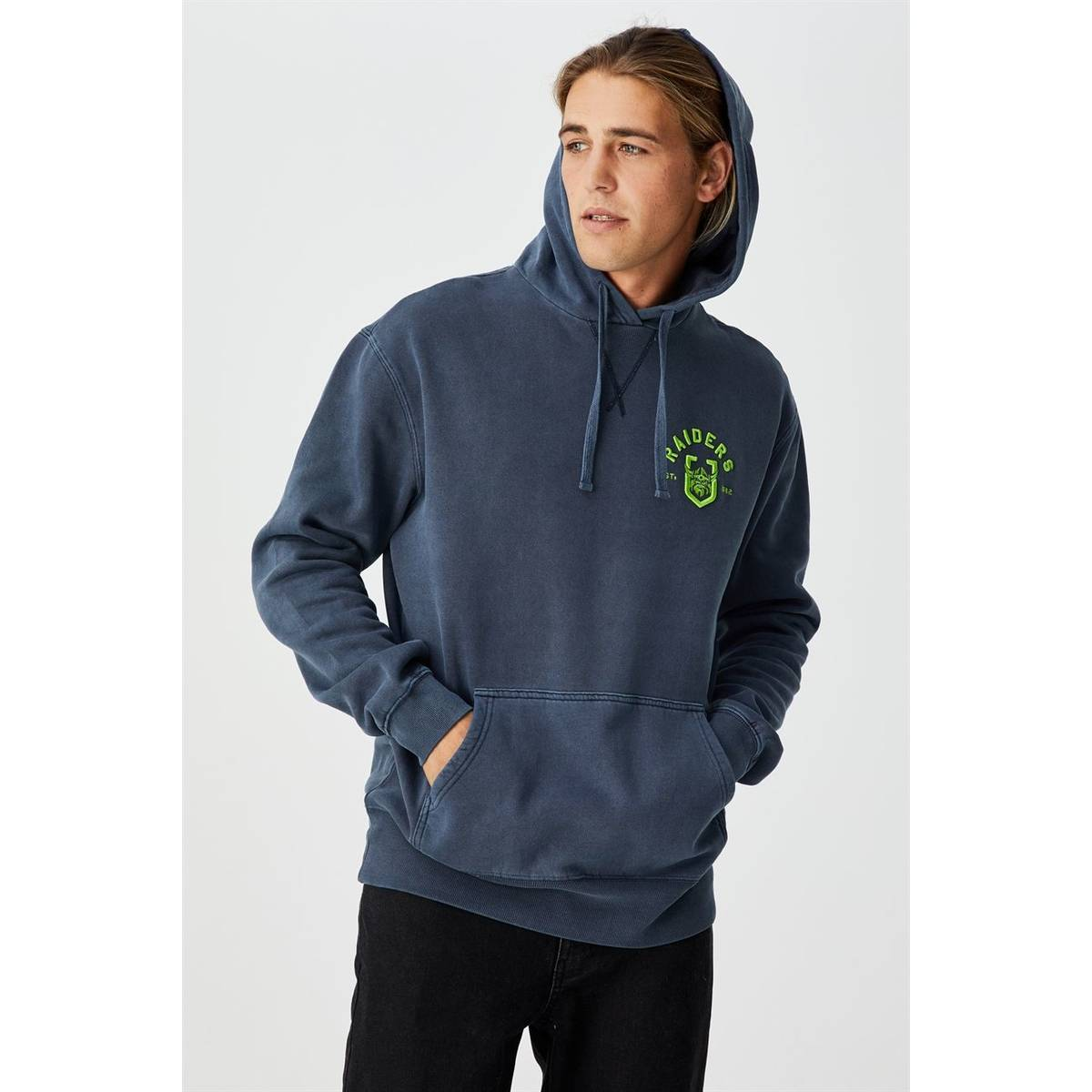 NRL Mens Chest Embroidery Hoodie1
