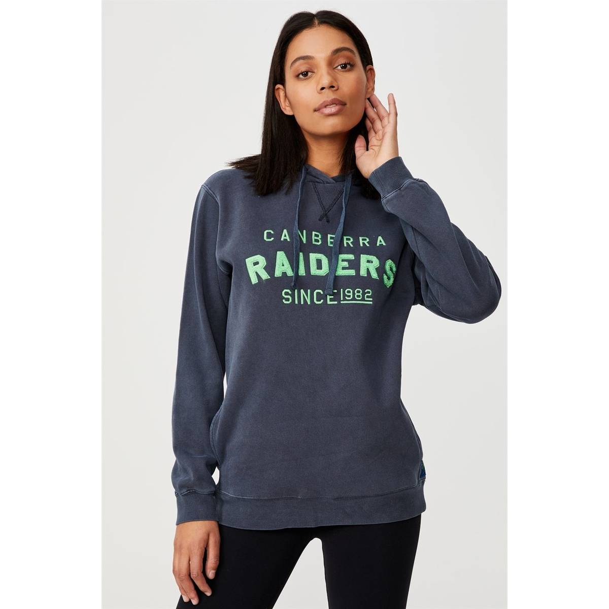 NRL Womens Embroidered Chenille Hoodie0