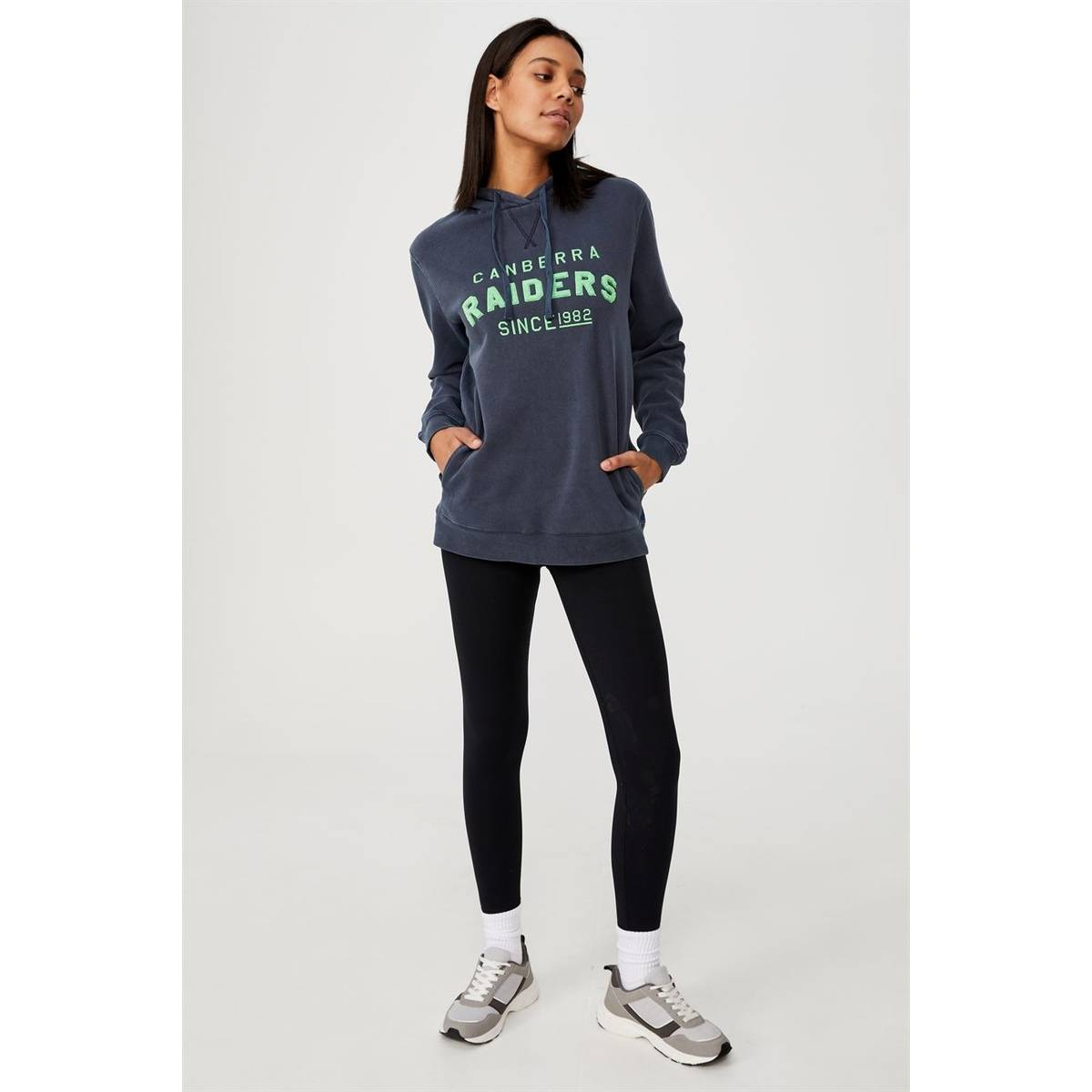 NRL Womens Embroidered Chenille Hoodie1