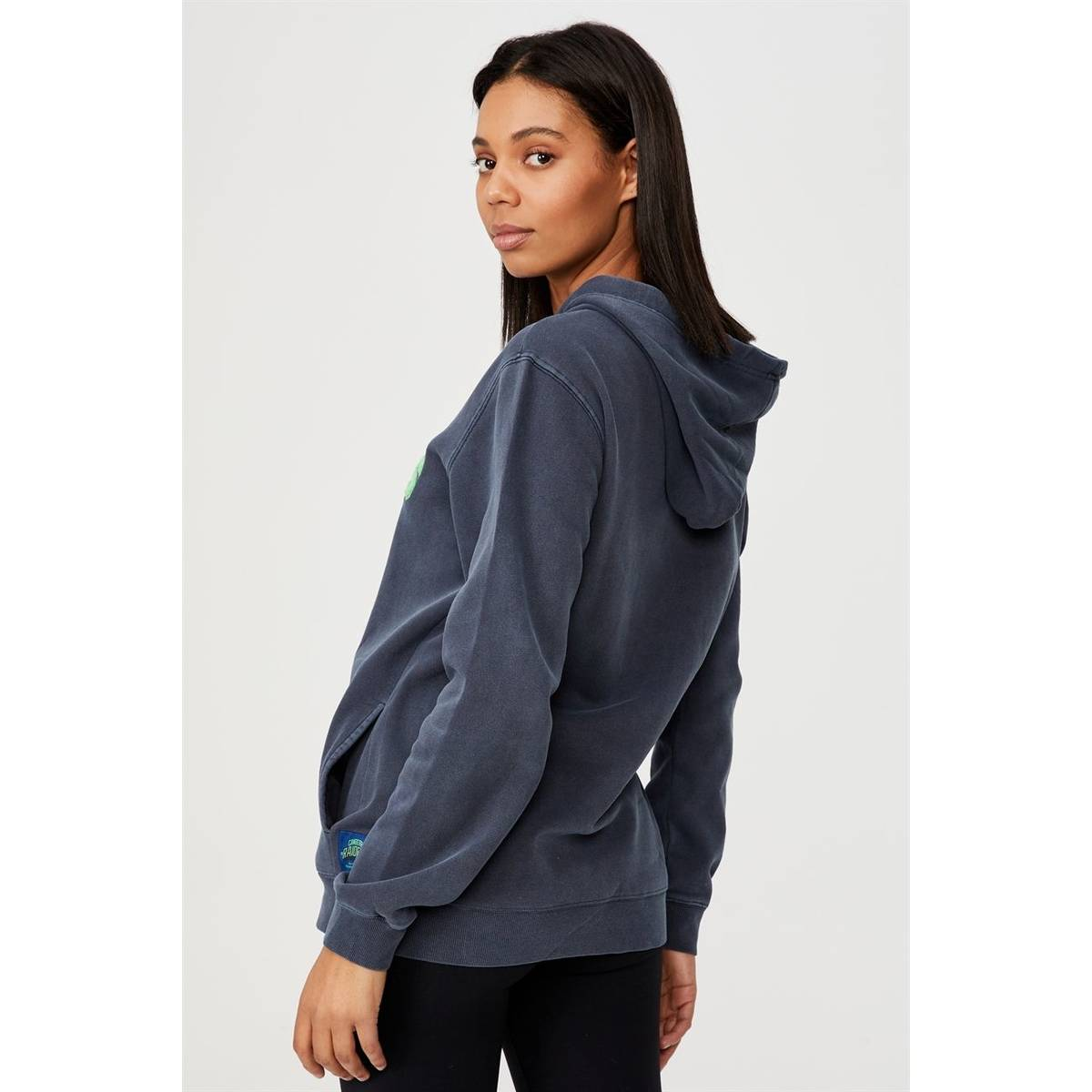 NRL Womens Embroidered Chenille Hoodie2