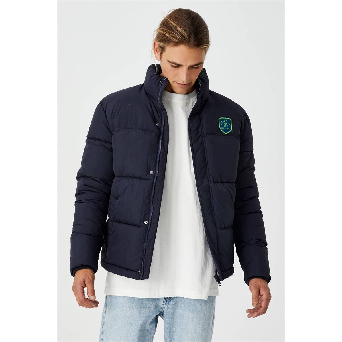 NRL Mens Team Puffer Jacket0