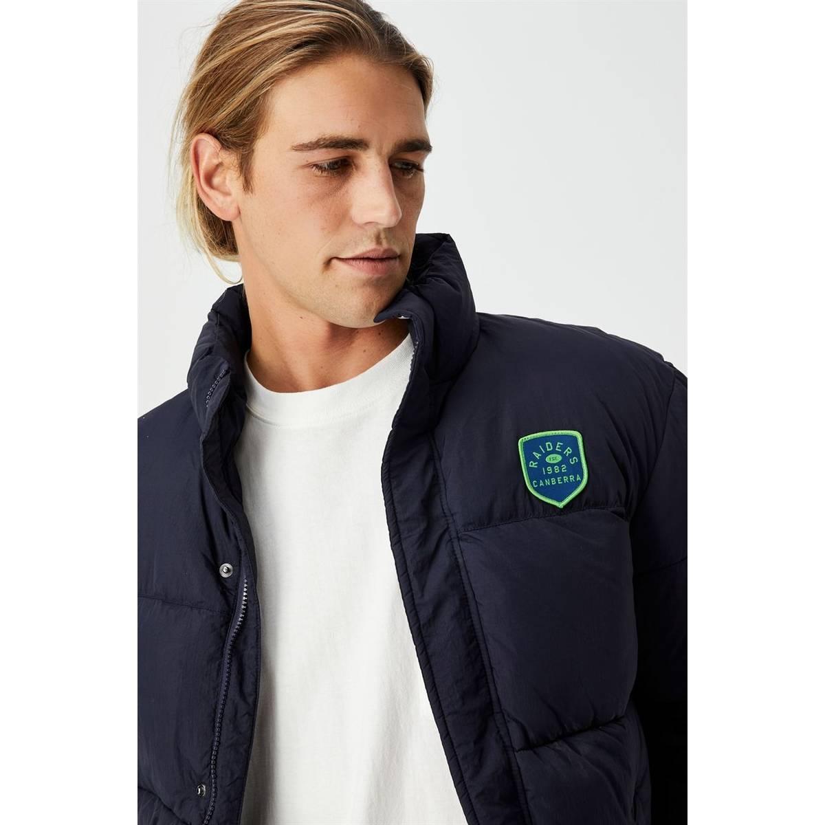 NRL Mens Team Puffer Jacket1