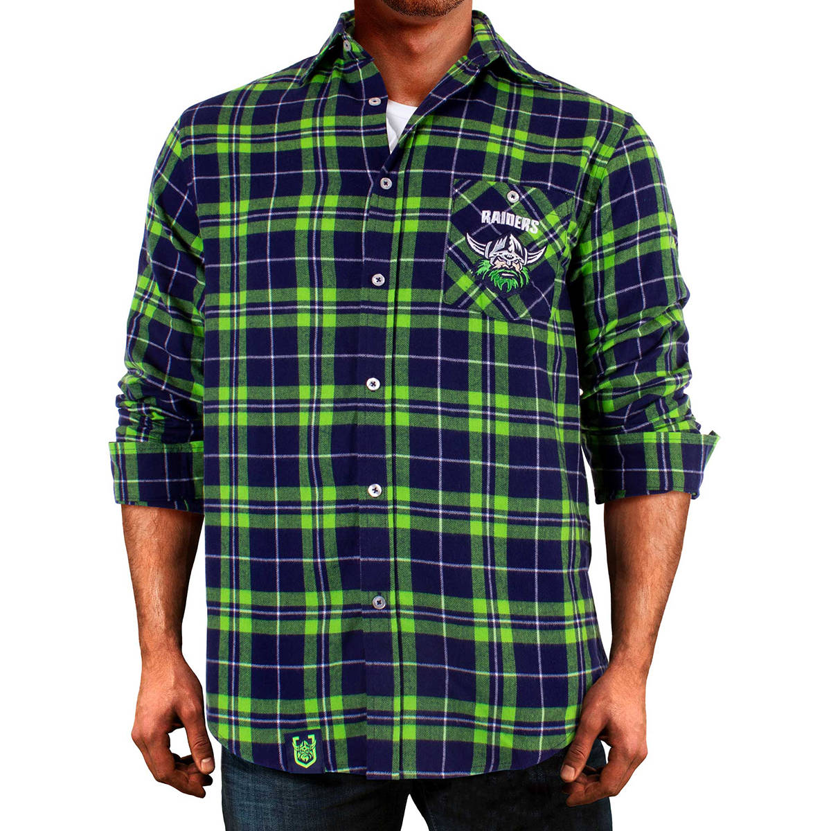 NRL Raiders Flannel Shirt0
