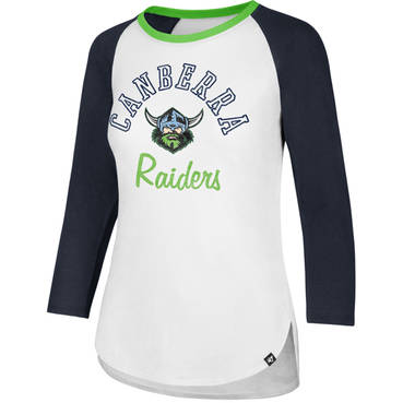 Ladies Arch Script Splitter Raglan