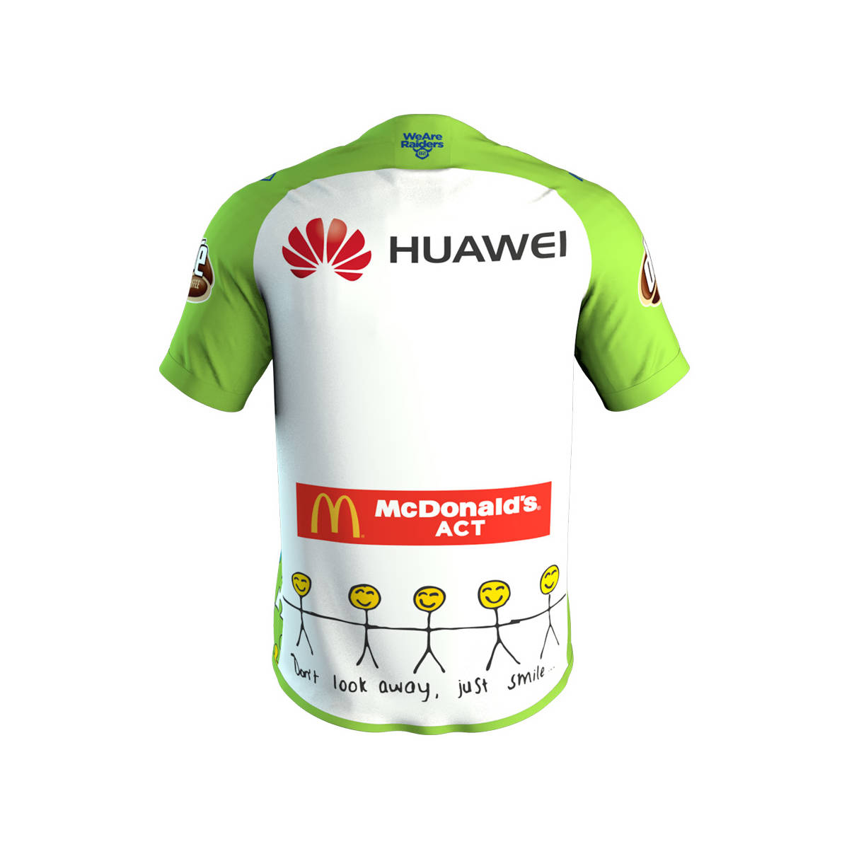 main2018 Adult Huawei Charity Jersey2
