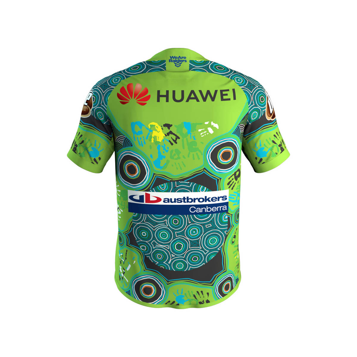 2019 Adults Raiders Indigenous Jersey1
